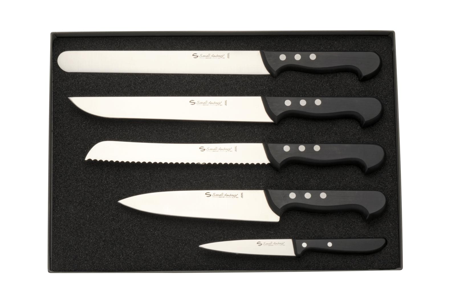 Set coltelli da cucina coltellerie italiane zoppis - Coltelli da cucina ...